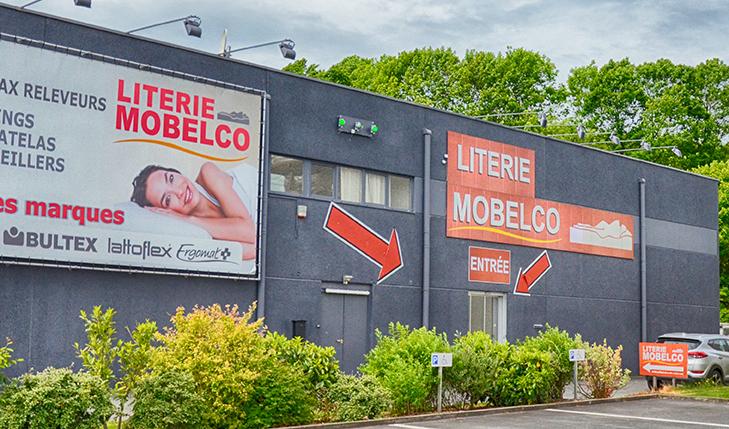Literie Mobelco lit TEMPUR – BULTEX – LATTOFLEX – EPEDA – ERGOMAT – PERDORMIRE – ZENNITUDE – REVOR Centre Commercial de Froyennes Rue des Roselières, 8 - B-7503 Froyennes +32 069/21.55.50 literiemobelco@gmail.com Ouvert du lundi au samedi de 10h à 18h30. Fermé le dimanche. Experts en matière de literie. De nombreuses offres spéciales vous y attendent !